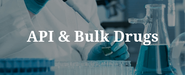 API & Bulk Drugs